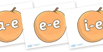 Modifying E Letters on Giant Peach to Support Teaching on James and the Giant Peach - Modifying E, letters, modify, Phase 5, Phase five, alternative spellings for phonemes, DfES letters and Sounds