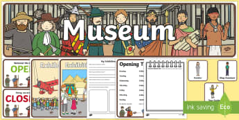 Museum Role Play Pack - museum, role play, role play pack, museum role play, resource pack, pack of resources, museum pack, museum resources, resources