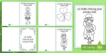 St. Patrick's Day Greeting Cards - la feile padraig, Lá féile Pádraig, La Fheile Phadraig, lá le Phádraig, St. Patrick's Day, St. Patrick, Lá le Pádraig, Greeting Cards, Cártaí,Irish