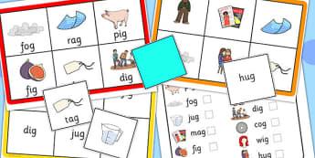 Final G Sound Bingo - final, g, sound, bingo, game, activity