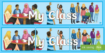 Our Class Banner - Key Stage 4 Entry Level, display, classroom, decoration
