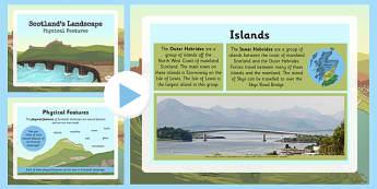 Scotland Landscape Physical Features - scotland, landscape, physical, features