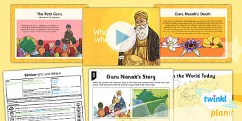 PlanIt - RE Year 3 - Sikhism Lesson 1: Who and Where? Lesson Pack - Sikhism, Sikhs, Guru Nanak, Punjab, India