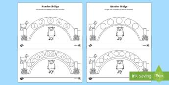 Number Bridge Activity Sheets