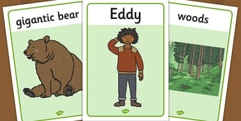 Ive Lost My Teddy Where Is It Colouring Sheets - Where's My Teddy, teddy, woods, forest, lost, bear, colouring, fine motor skills, poster, worksheet, vines, A4, display, reading, story, book