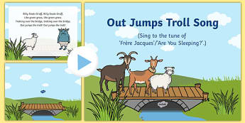 Out Jumps Troll Song PowerPoint