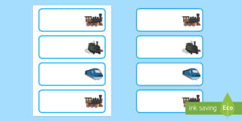 Train Themed Editable Drawer, Peg, Name Labels - Requests KS1, peg, drawer, labels, name labels, classroom management, train, transport