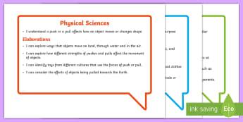 Australian Curriculum Science Understandings Year 2 Speech Bubbles Assessment Pack - Australian Curriculum, science understandings, grade two, WALT, TIB,Australia