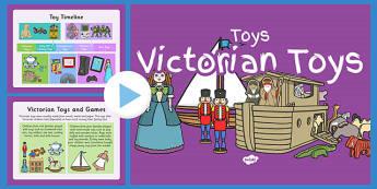 Victorian Toys PowerPoint - victorian toys, powerpoint, victorian, toys