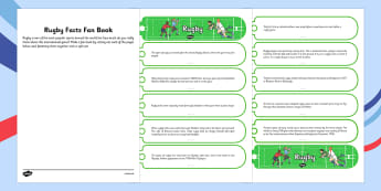 Rugby Facts Fan Book - rugby, facts, fan book, fan, book, rugby world cup