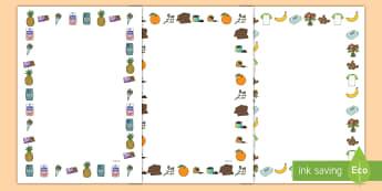 Commercio Equo e Solidale Cornici per scrivere - cornici, cornicette, per, scrivere, commercio, equo, e, solidale, italiano, italian, materiale, scol