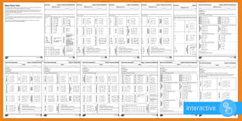 Basic Facts Test Set 2 Stages 3 - 8 Assessment Pack Go Respond Activity Sheets - New Zealand Planning and Assessment, Numeracy Project, National Standards, Basic Facts Tests, NZ Bas