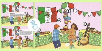 Cinco de Mayo Picture Hotspots - Cinco de Mayo, Mexico, Mexican traditions, Traditional Mexican Food, Social Studies, Holiday, Celebr