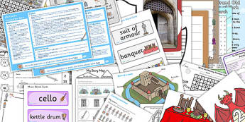Castles KS1 Lesson Plan Ideas and Resource Pack - Castles, Pack