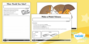 PlanIt - Geography Year 3 - Extreme Earth Home Learning Tasks