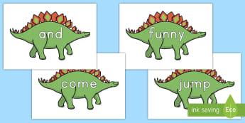 Pre-Kindergarten Dinosaur Dolch Sight Display Posters - Dinosaurs, dolch, dolch sight words, sight words, pre kindergarten, dolch words sight-words