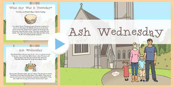 Ash Wednesday Assembly Presentation - Ash Wednesday, Assembly, Lent, presentation