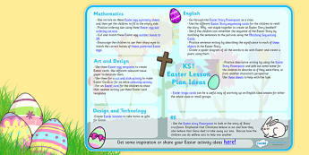 Easter Lesson Plan Ideas KS1 - easter, easter lesson plan, lesson plan, easter lesson planning, easter planning, easter lesson ideas, lesson ideas, MPT