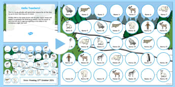 Polar Regions Self Registration PowerPoint - polar, self-reg