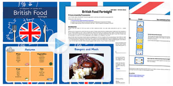 British Food Fortnight Assembly Pack - british food fortnight, assembly, pack
