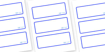 Welcome to our class - Plain Themed Editable Drawer-Peg-Name Labels (Blank) - Themed Classroom Label Templates, Resource Labels, Name Labels, Editable Labels, Drawer Labels, Coat Peg Labels, Peg Label, KS1 Labels, Foundation Labels, Foundation Stage
