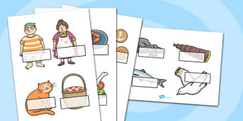 Self Registration to Support Teaching on The Lighthouse Keeper's Lunch - The Lighthouse Keepers Lunch, Ronda Armitage, Mr Grinling, Mrs Grinling, seagulls, seaside, lunch, Hamish, resources, sandwhich, story, story book, story book resources, story s