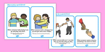 How To Be a Good Friend Cards Romanian Translation - romanian, how, to be, good, friend, cards