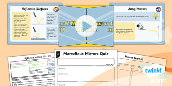 PlanIt - Science Year 3 - Light Lesson 3: Marvellous Mirrors Lesson Pack