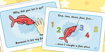 1, 2, 3, 4, 5 Once I Caught a Fish Alive Sequencing - 1,2,3,4,5, Once I Caught a Fish Alive, nursery rhyme, rhyme, rhyming, nursery rhyme story, nursery rhymes, counting rhymes, counting, sequencing, 12345 once i caught a fish alive