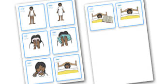 SEN Visual Timetable (Getting Ready For Bed - Sikh Girls) - getting ready for bed, bed, bedtime, Visual Timetable, SEN, Daily Timetable, School Day, Daily Activities, Daily Routine KS1, good night, bedtime story, brush teeth, girls