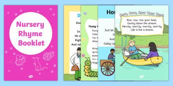 Nursery Rhymes UK - nursery rhymes, poems, poetry, rhyming, books