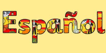 Spanish Title Display Lettering Spanish - spanish, Lettering, Display