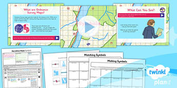 PlanIt - Geography Year 5 - Marvellous Maps Lesson 2: Symbols Lesson Pack