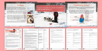 AQA P2 Reading Booklet Lesson Pack: 'I fell through Arctic ice'  - AQA P2 Reading Booklet, AQA, reading comprehension, Arctic, Gary Rolfe, Arctic ice, GCSE English Lan