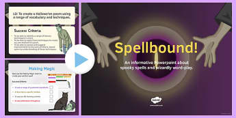 Spellbound PowerPoint - spellbound, powerpoint, shakespeare, ks3