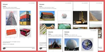 Student Led Practice Sheet Volume - KS3, KS4, maths, GCSE, revision, practise, measure, volume, 3D shape
