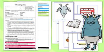 Cross the Troll's Bridge Phonics Activity EYFS Adult Input Plan and Resource Pack