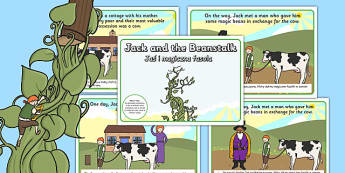 Jack and the Beanstalk Story Polish Translation - polish, story