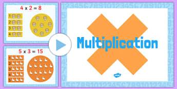 Multiplication PowerPoint - multiplication, powerpoint, powerpoint about multiplication, times tabels, numeracy, numeracy powerpoint, maths