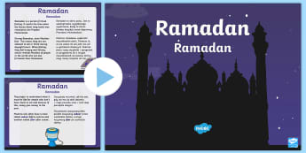 KS1 Ramadan Information PowerPoint English/Polish - KS1 Ramadan Information PowerPoint - ramadan, information, powerpoint, ramadam, ramadhan, pp, ppt,EA
