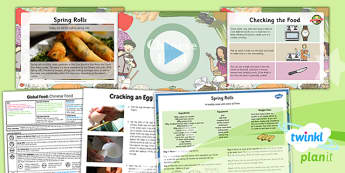 PlanIt - DT UKS2 - Global Food Lesson 5: Chinese Food Lesson Pack