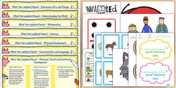 Lesson Plan and Enhancement Ideas EYFS to Support Teaching on What the Ladybird Heard - KS2, lesson idea