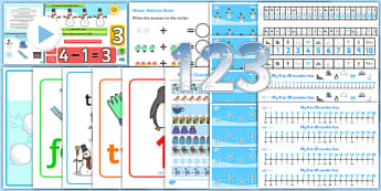 Winter Numeracy Resource Pack - winter, numeracy, maths, seasons