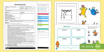 EYFS What Else Do Aliens Love? Adult Input Plan and Resource Pack Adult Input Plan and Resource Pack - Aliens love underpants, claire freedman, ben cort, being imaginative, story, reading, writing a stor