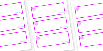 Pink Themed Editable Drawer-Peg-Name Labels (Blank) - Themed Classroom Label Templates, Resource Labels, Name Labels, Editable Labels, Drawer Labels, Coat Peg Labels, Peg Label, KS1 Labels, Foundation Labels, Foundation Stage Labels, Teaching Labels
