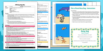 EYFS Fish a Friend Busy Bag Plan and Resource Pack