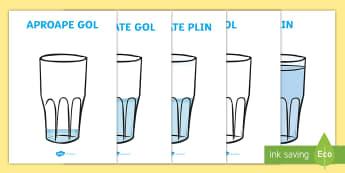 Capacitate Planșe -  unități de măsură, măsoară,  compară, ordonează după mărime