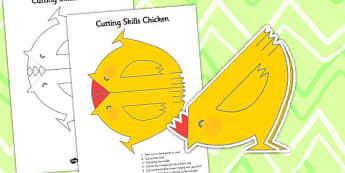 Cutting Skills Chicken - chicken, cutting, cut, cutting skills