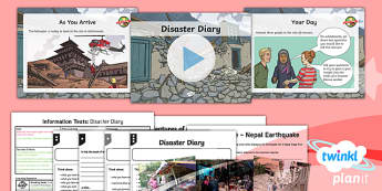 Extreme Earth: Earthquakes and Volcanoes Lesson Pack Information Texts (1)