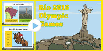 KS1 Rio Olympics 2016 Information PowerPoint